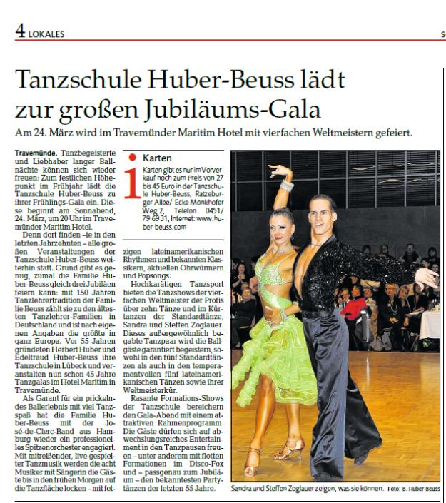 News blog tanzschule huber beuss l beck for Spiegel 09 2018
